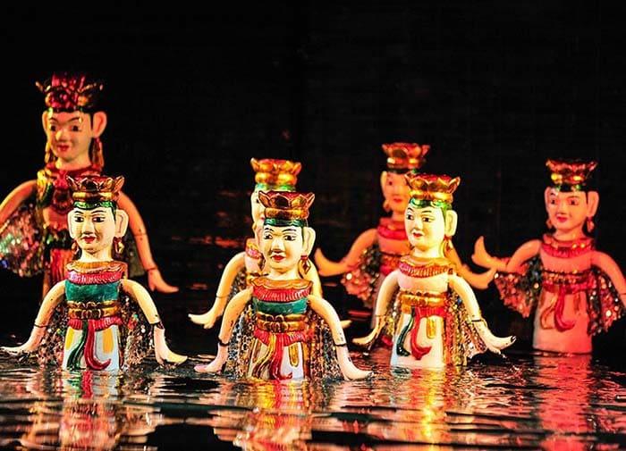 Múa rối nước - văn hóa đặc sắc của người Việt Nam