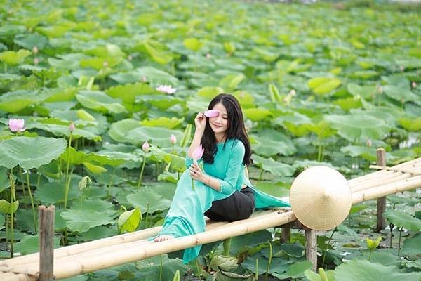Đầm sen Hồ Tây với vẻ đẹp lãng mạn, nên thơ