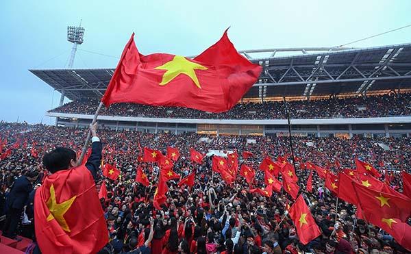 Sân vận động Mỹ Đình - nơi bạn thể hiện niềm tự hào của Việt Nam