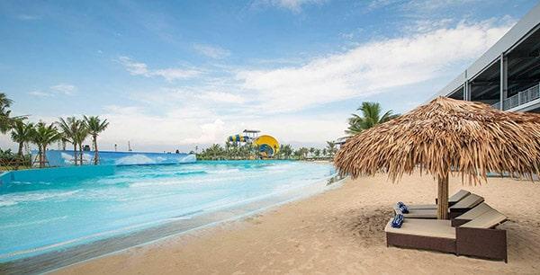 bãi biển nhân tạo Baara Land