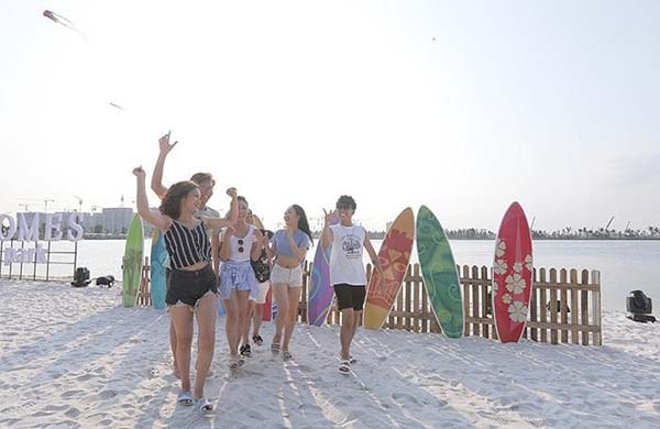 Có gì ở bãi biển nhân tạo Vinhomes Ocean Park
