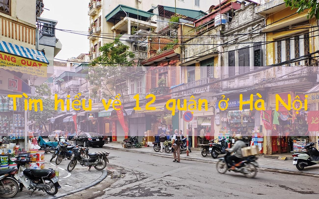 Các Quận ở Hà Nội