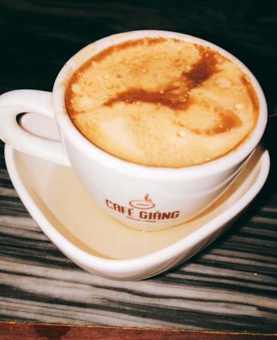 Đồ uống của quán cafe Giảng thơm ngon, hấp dẫn