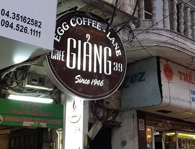 Cafe Giảng - quán cafe lâu đời nhất Hà Nội