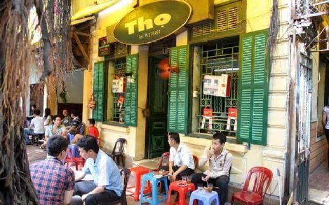 Cafe Thọ lúc nào cũng đông vui, náo nhiệt