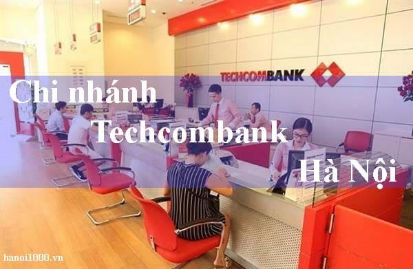 chi nhánh techcombank hà nội
