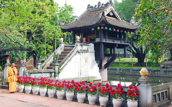 Chùa Một Cột - Ngôi chùa nổi tiếng nhất Hà Nội