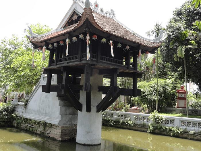 Chùa Một Cột có kiến trúc độc đáo, ấn tượng nhất Việt Nam