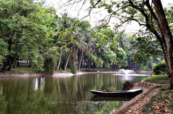 công viên nổi tiếng nhất Hà Nội - Công viên Bách Thảo