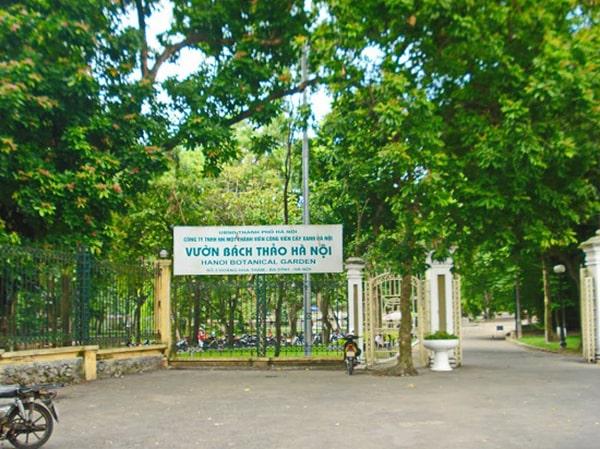 Công viên Bách Thảo – Công viên xanh nhất thủ đô