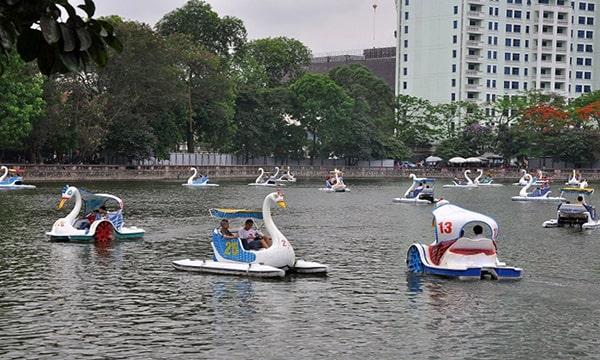 Điểm mặt các công viên nổi tiếng nhất Hà Nội - Công viên Thủ Lệ