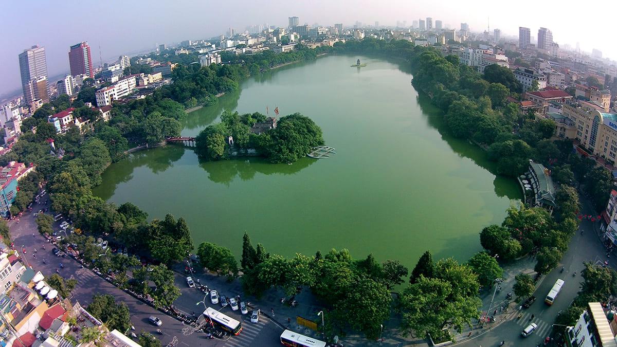 Hồ Gươm - Hồ Hoàn Kiếm Hà Nội