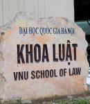 Khoa Luật Trường Đại học Quốc gia Hà Nội