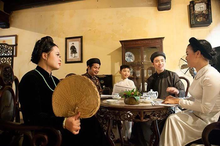 Gia đình Hà Nội tôn trọng lối sống bình dị, khiêm nhường