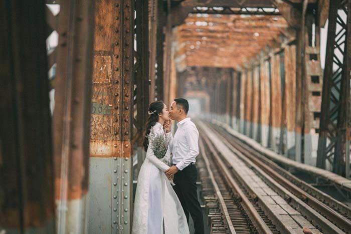 Cầu Long Biên – nơi cảm xúc thăng hoa