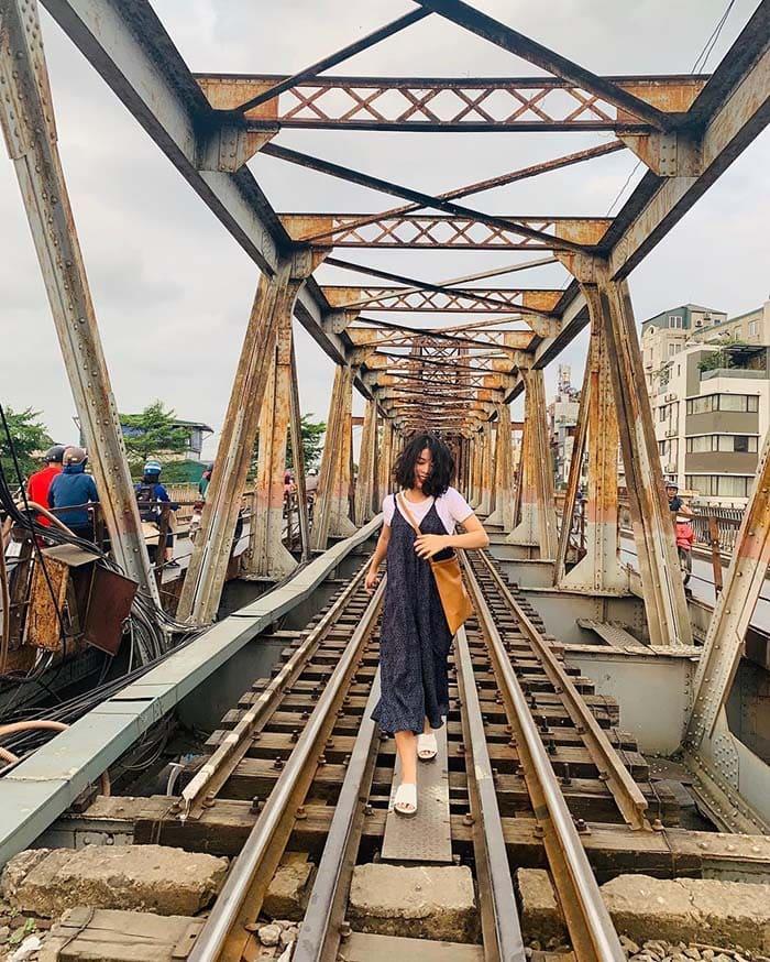 Cầu Long Biên – địa điểm chụp ảnh lý tưởng nhất