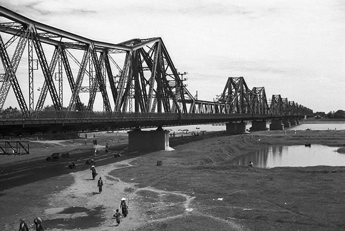 Hình ảnh Cầu Long Biên năm xưa