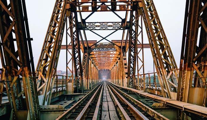 Cầu Long Biên – di tích lịch sử đẹp nhất Hà Nội