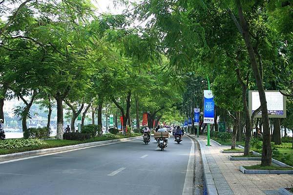 Đường Thanh Niên xanh - sạch - đẹp