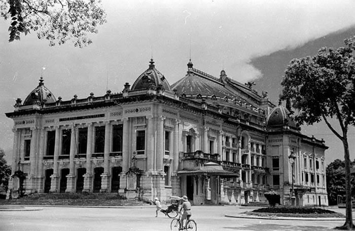 Nhà hát lớn Hà Nội lúc mới xây dựng