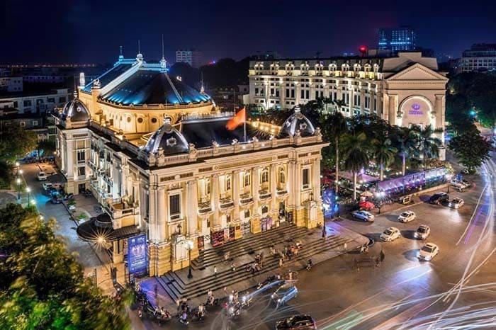 Nhà hát lớn Hà Nội nguy nga, tráng lệ