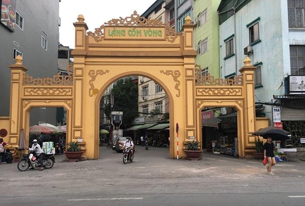 Làng Vòng - Ngôi làng làm cốm ngon nhất Hà Nội