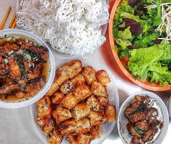 Bún chả Hà Nội – món ăn tinh tế không thể chối từ của mảnh đất Kinh Kỳ