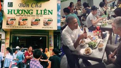 Bún chả Hương Liên - Quán bún chả Obama Hà Nội